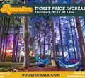 Rooster Walk Reunion - Ticket Price Increase, Band Schedule, and More
