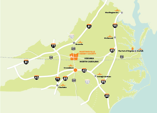 AIR TRANSPORTATION MAP